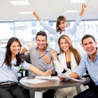 Foto de Stock  : Successful business team Successful business team