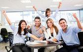успешный бизнес команда успешный бизнес команда — Стоковое фото