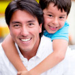 Happy father and son Happy father and son — Stockfoto #19836779