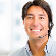 Stock Photo: Telemarketing agent Telemarketing agent