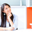 Thoughtful businesswoman Thoughtful businesswoman  — Stock Photo