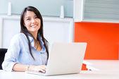 Mulher de negócios bem sucedido de mulher de negócio bem sucedido — Foto Stock