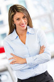 Bossy business woman Bossy business woman — Stock Photo
