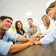 Stock Photo: Group of business Group of business