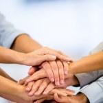 Business teamwork Business teamwork — Stock Photo