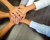 Zakelijke team zakelijke team — Stockfoto