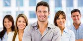 Grupo de grupo de negócios de negócios — Foto Stock