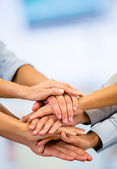 ビジネス チームワーク ビジネス チームワーク — ストック写真