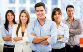 Equipa do negócio bem sucedido de negócios bem sucedido — Foto Stock