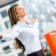 Successful businesswoman Successful businesswoman — Stock Photo