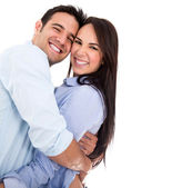 Beautiful affectionate couple Beautiful affectionate couple — Foto de Stock