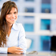 Beautiful business woman Beautiful business woman — Stock Photo