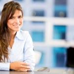 Beautiful business woman Beautiful business woman — Stock Photo