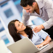 Business at work Business at work — Stock Photo