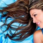 Woman with beautiful hair Woman with beautiful hair — Stock Photo