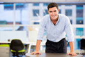 Confident business man Confident business man — Stock Photo
