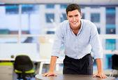 Confident business man Confident business man — Stock Photo