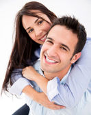 Happy loving couple Happy loving couple — Stock Photo