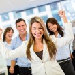 Successful business team Successful business team — Stock Photo