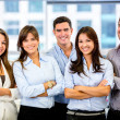 Royalty-Free Stock Photo: Happy business team Happy business team