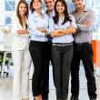 Confident business group Confident business group — Stock Photo