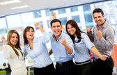Successful business group Successful business group — Stock Photo