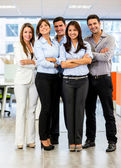 Confident business group Confident business group — Stock Photo