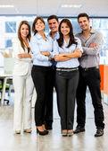 Grupo de negócios confiante de grupo empresarial confiante — Foto Stock