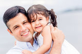 Father and daughter. — Stock Photo