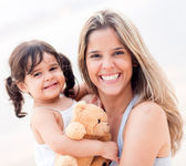 Loving mother with her child. — Stock Photo