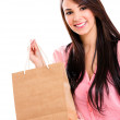 Royalty-Free Stock Photo: Woman with a shopping bag