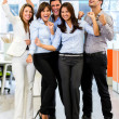 Successful business team. — Stockfoto