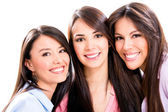 Group of girl friends — Stock Photo