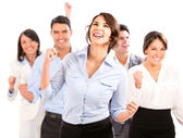 успешный бизнес-команда. — Стоковое фото