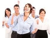 Framgångsrik verksamhet team. — Stockfoto