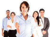 Handshake di affari. — Foto Stock