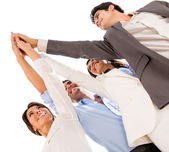 Business high five. — Foto Stock