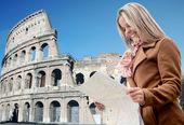 Tourist in Rome — Stock Photo