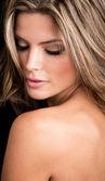 Woman with beautiful skin — Stock Photo