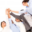 Stock Photo: Business teamwork