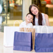 Young shoppers — Stock Photo