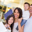 Family going shopping — Stock Photo #22976858