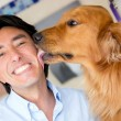 Dog love - Stock Photo
