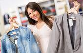 Fazer compras woman — Fotografia Stock