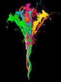 3D paint colors — Stock Photo