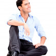 relaxed business man — Stock Photo