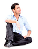 Relaxed business man — Foto de Stock