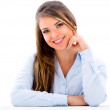 Business woman smiling — Stock Photo #23364114