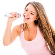 Female singer — Stock Photo #23511389