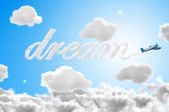 3D Dream travel — Stock Photo